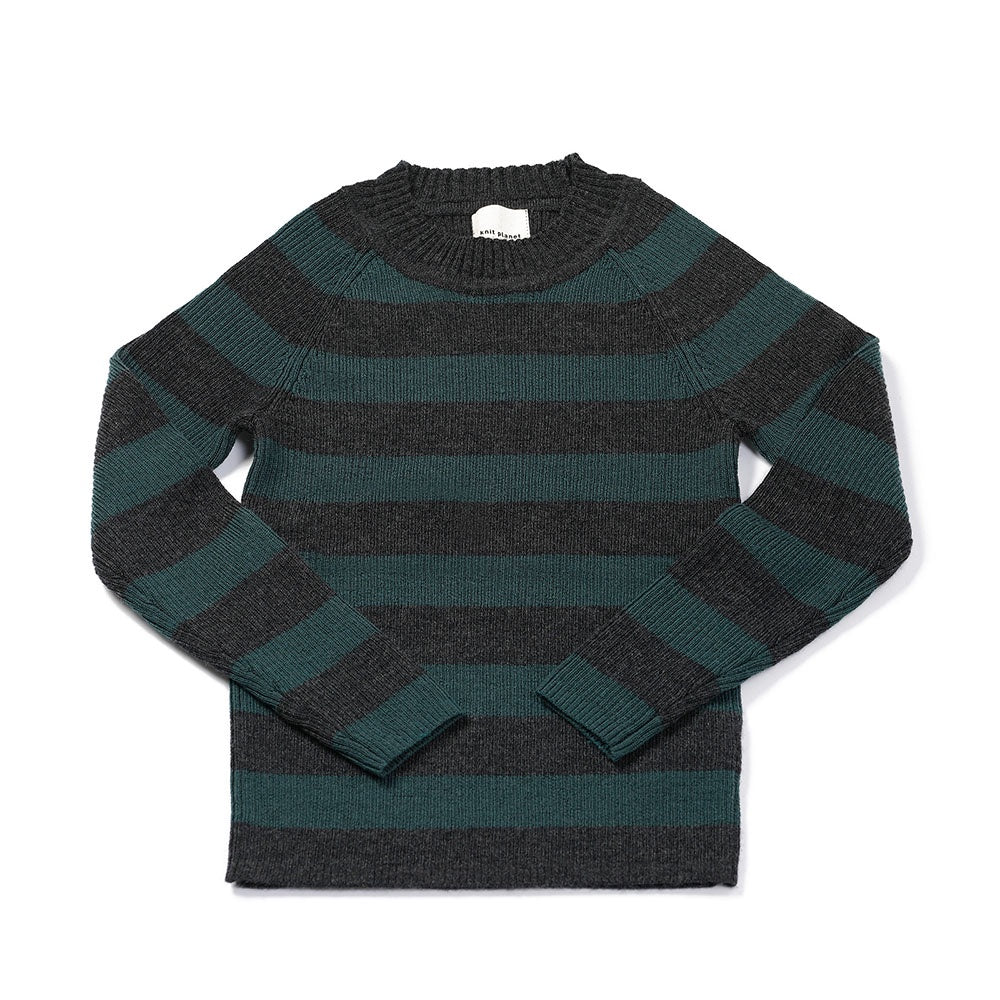 Stripe Jumper Olive