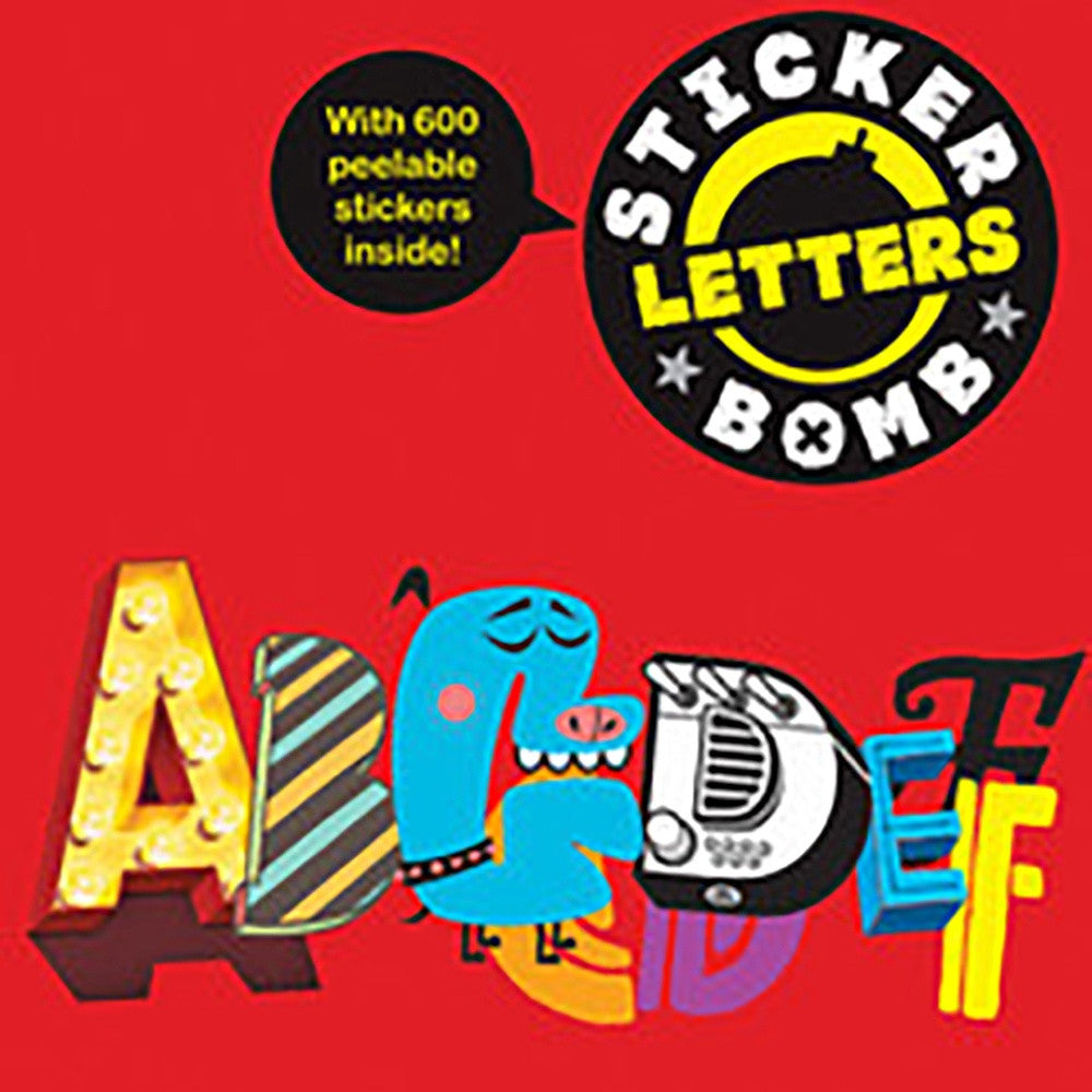 Stickerbomb Letters, Little Hampton Book Services- Trapeze Kids
