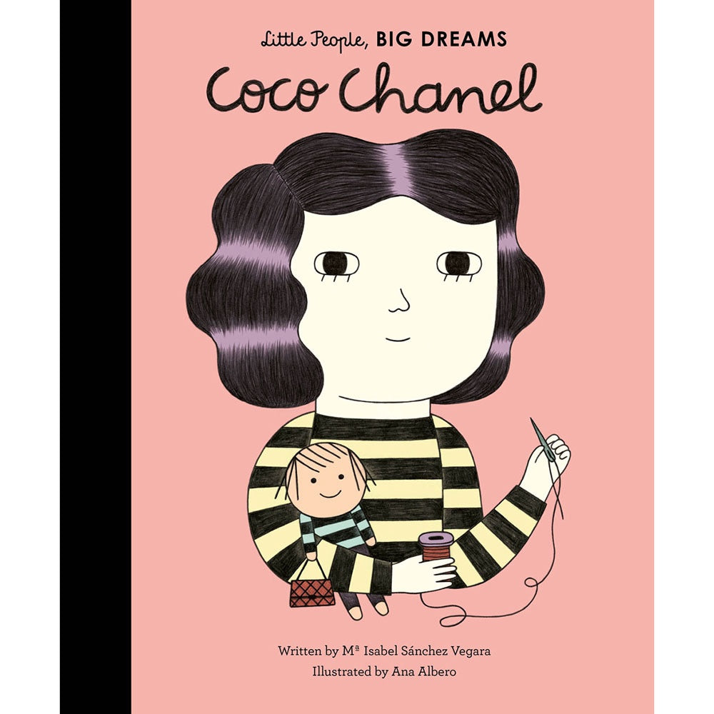 Coco Chanel from Little People Big Dreams kids books by Isabel Sanchez Vegara
