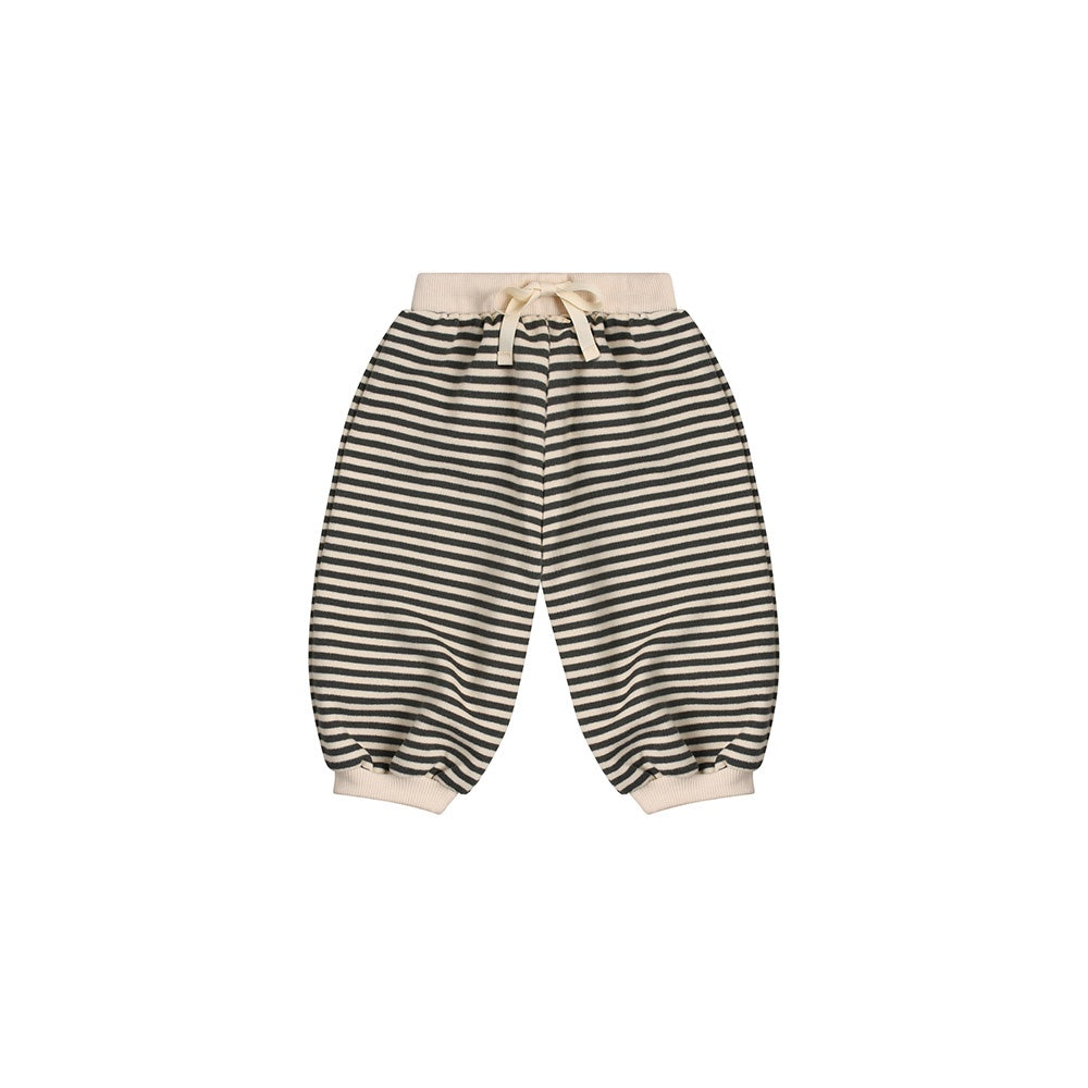 Organic Cotton Stripe Sweatpants by Organic Zoo