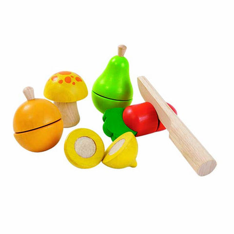 Fruit and Veg Set, Plan Toys- Trapeze Kids