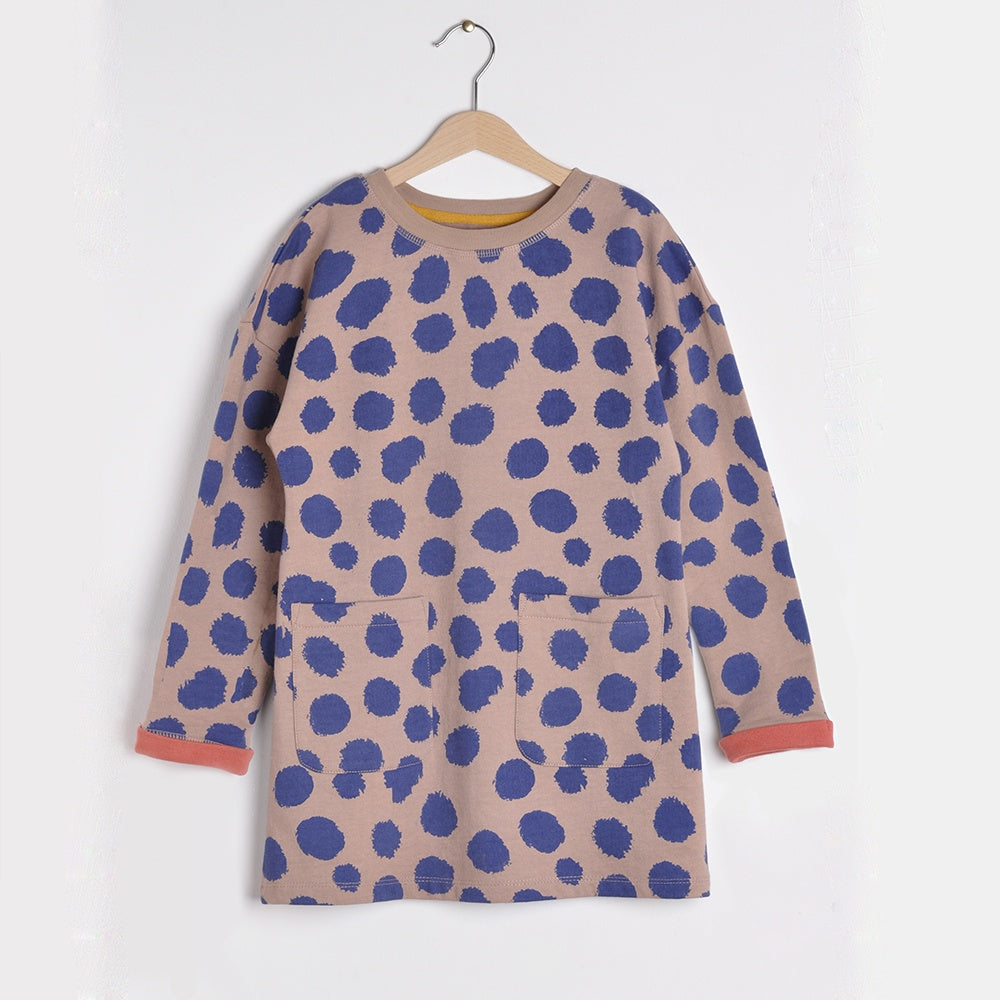 Guepard Dress, Nadadelazos- Trapeze Kids