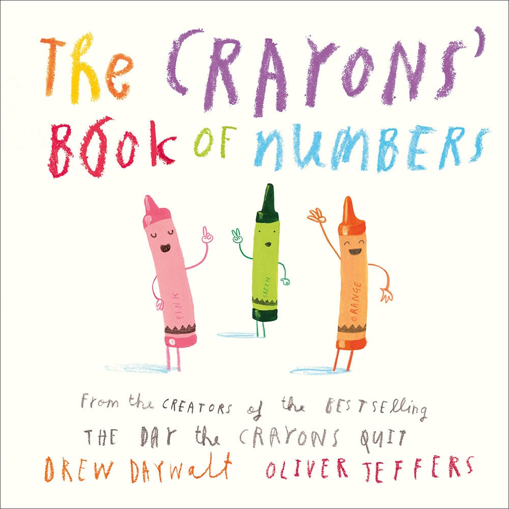 Crayons Book of Numbers, Bookspeed- Trapeze Kids