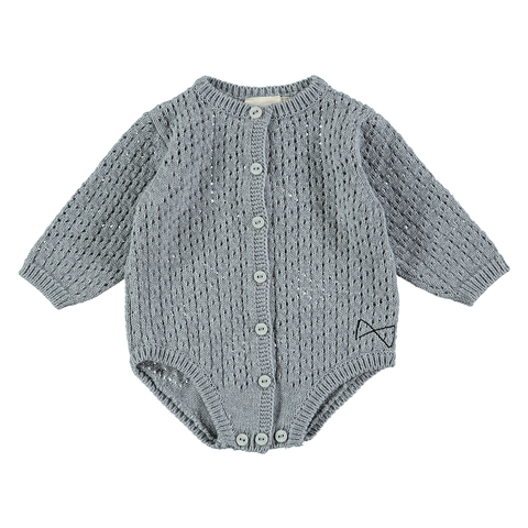 Vintage Knit Body Suit, Mini Sibling- Trapeze Kids