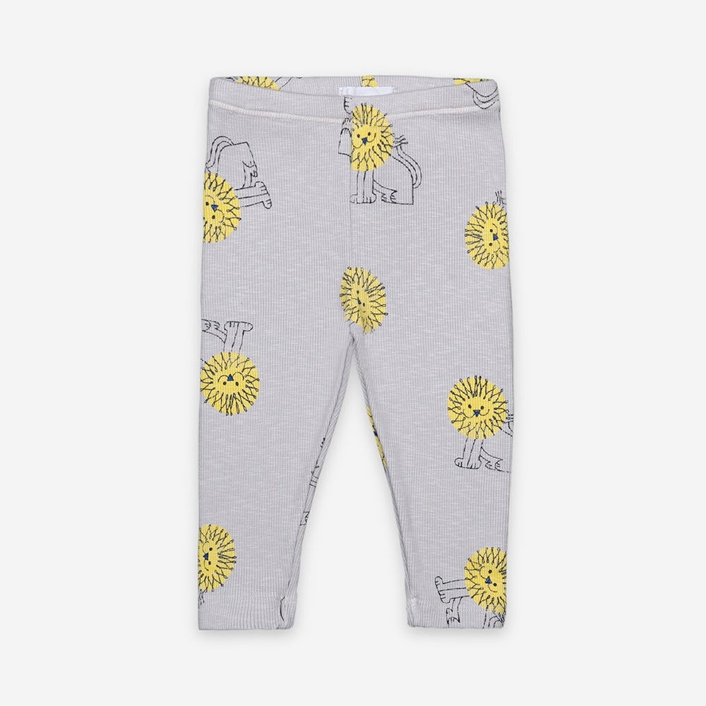 Pet A Lion Baby Leggings by Bobo Choses