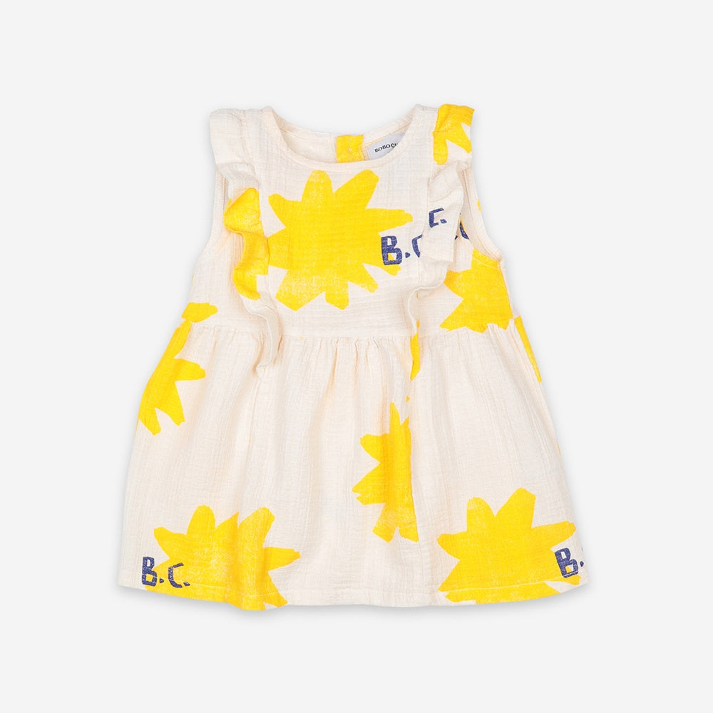 Sparkle All Over Baby Dress by Bobo Choses