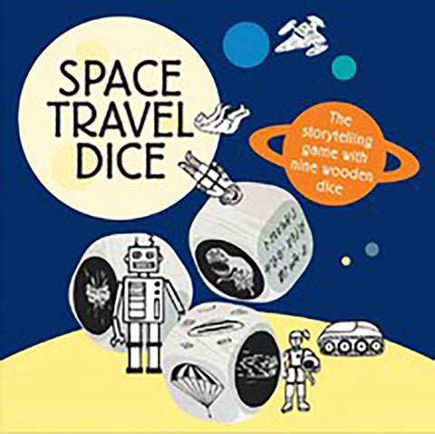 Space Travel Dice, Little Hampton Book Services- Trapeze Kids
