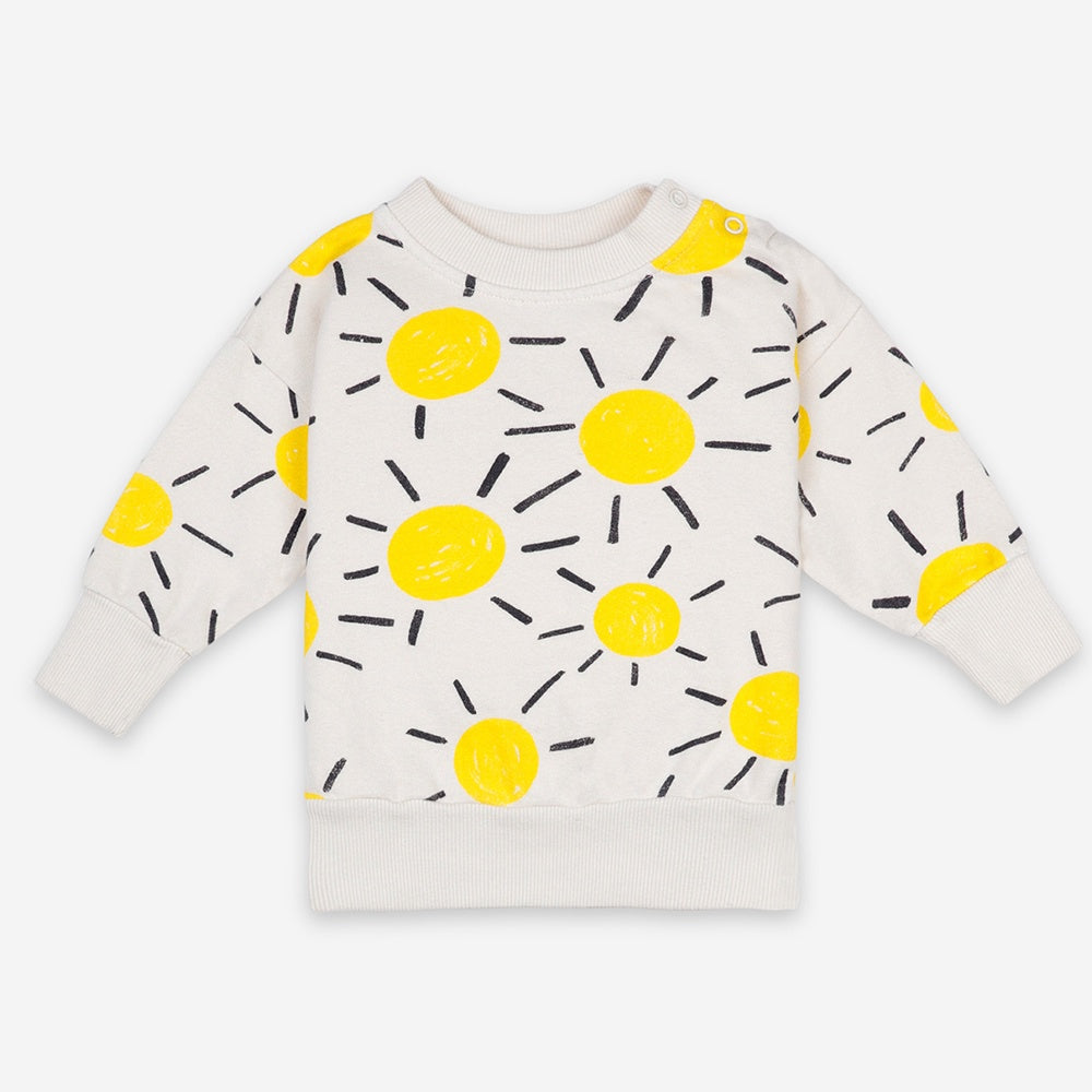 Sun All Over Baby Sweatshirt by Bobo Choses