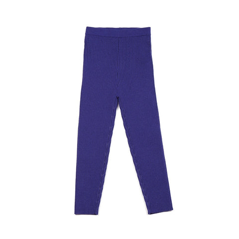 Knit Leggings Indigo