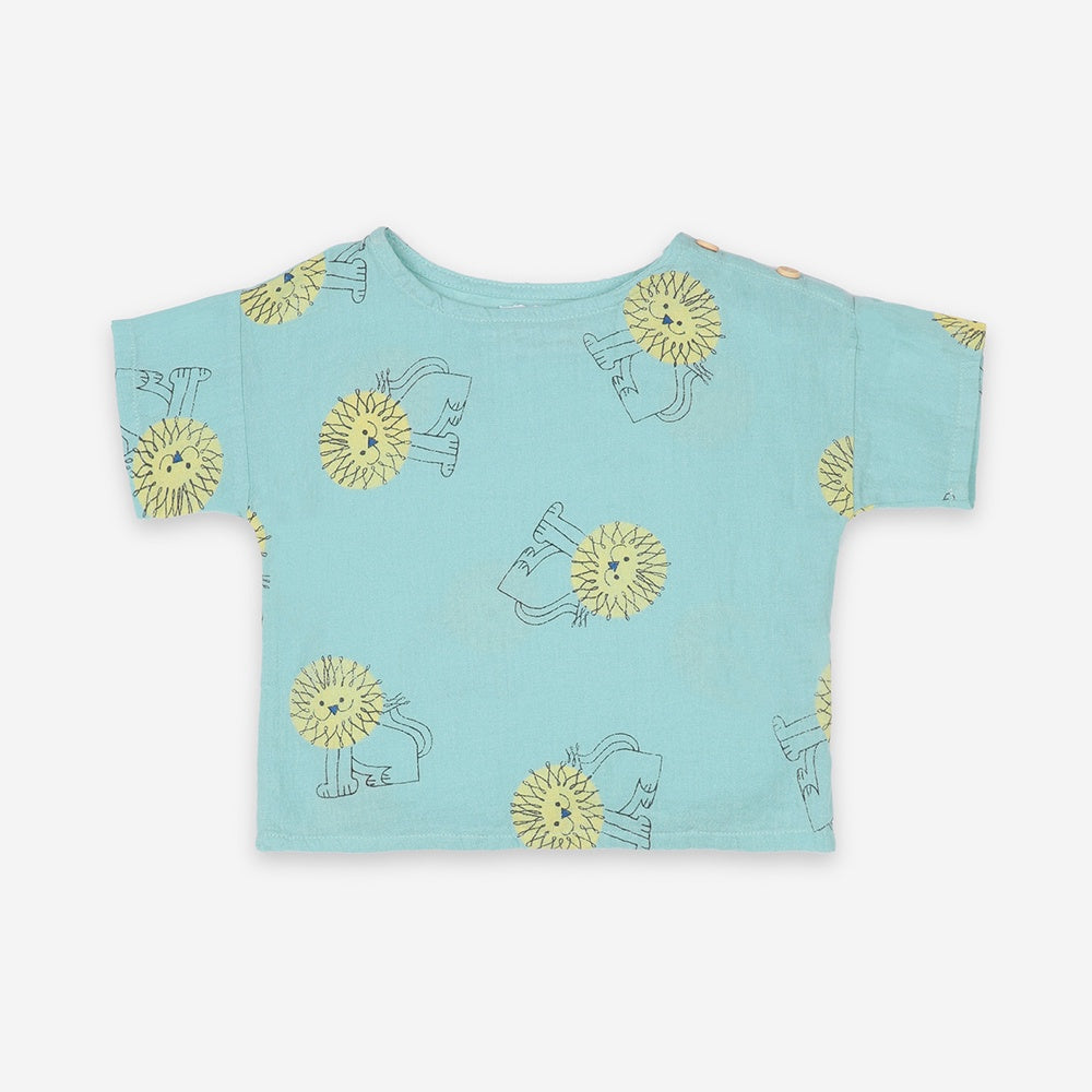 Pet A Lion Baby Shirt by Bobo Choses
