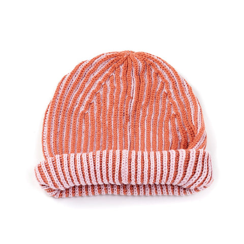 Contrast Beanie Dust Pink