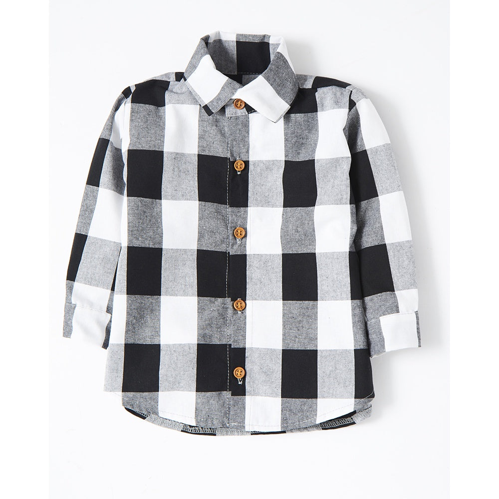 Large Gingham Shirt