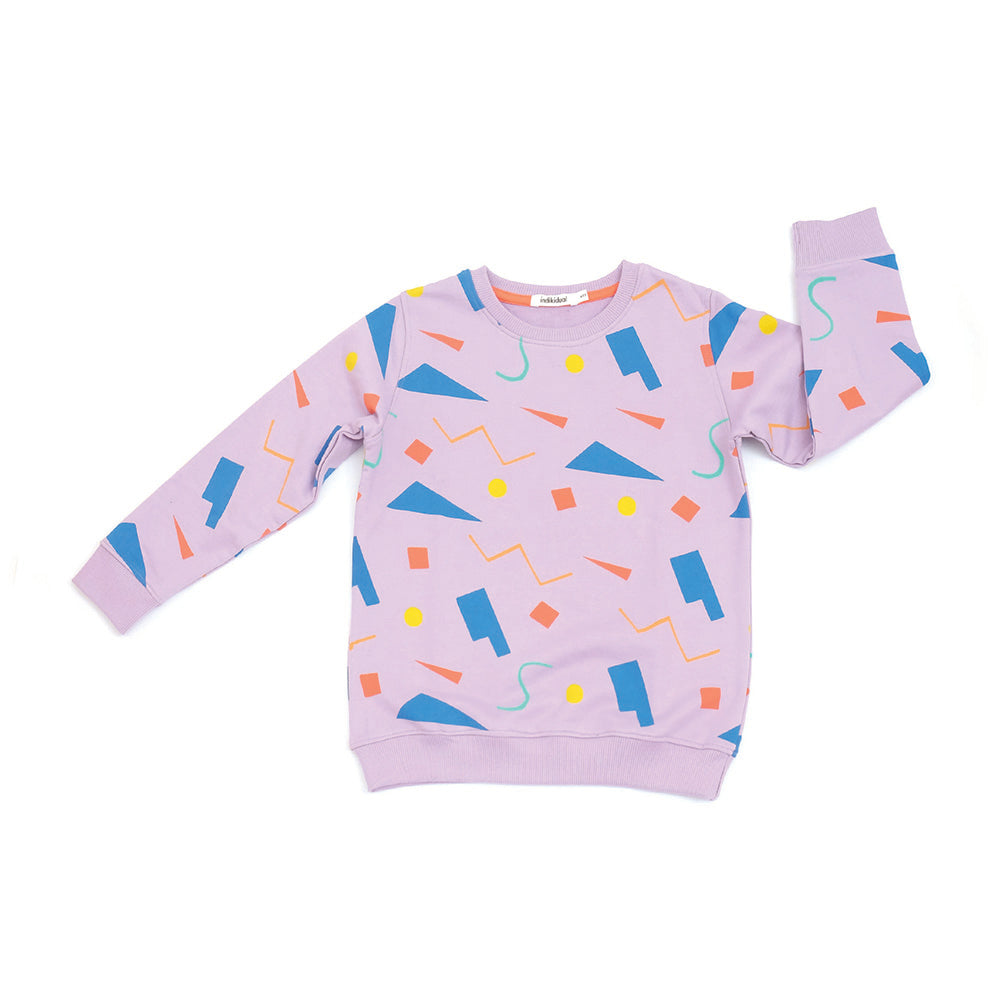 Abstract Shapes Sweater
