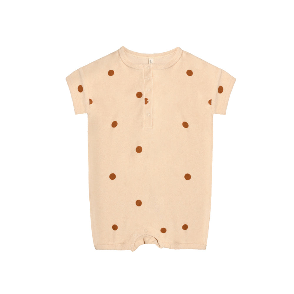 Spice Dots Beach Romper from Organic Zoo