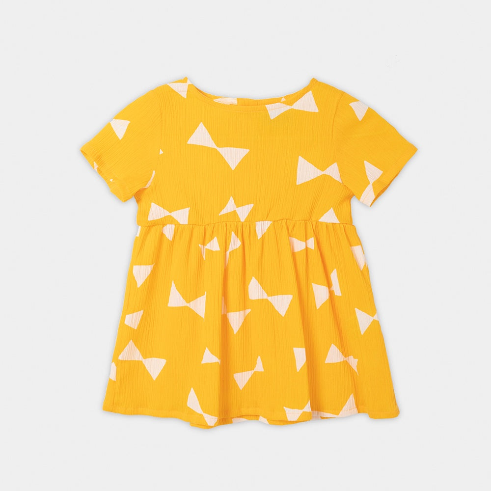 All Over Bow Dress