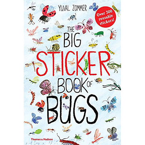 Big Sticker Book of Bugs by Yuval Zommer