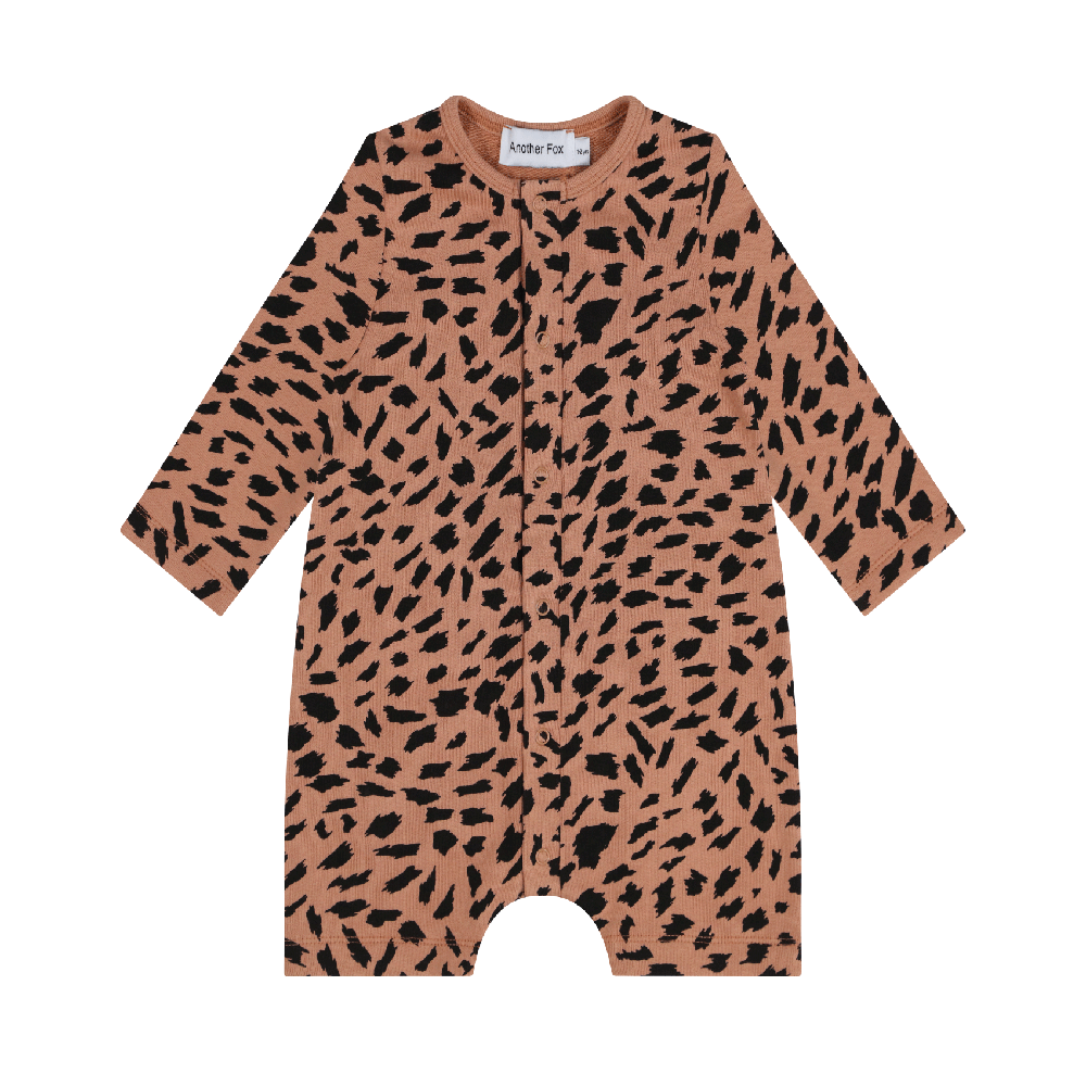 Unisex Animal Print Cotton Baby Romper by Another Fox