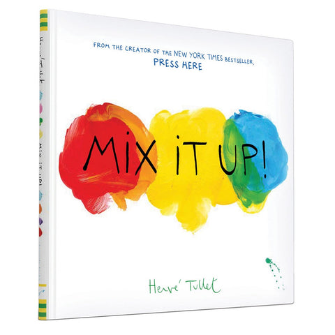 Mix It Up. Kids interactive picture book by Herve Tullet