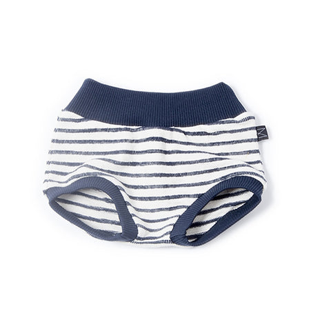 Denim Stripe Bloomers, Monkind- Trapeze Kids