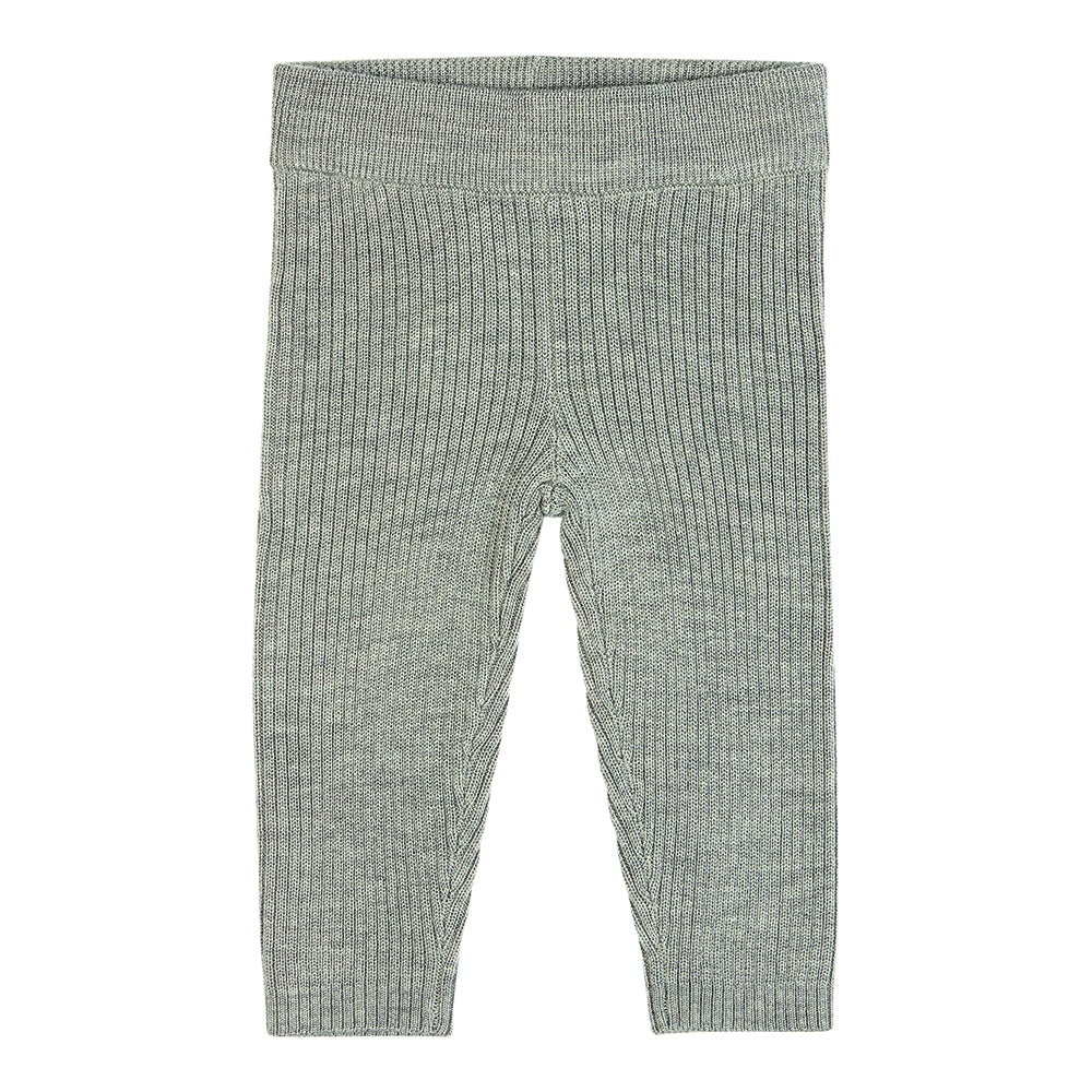 Fine Rib Baby Leggings Grey, fub- Trapeze Kids