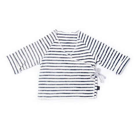 Denim Stripe Cardi, Monkind- Trapeze Kids