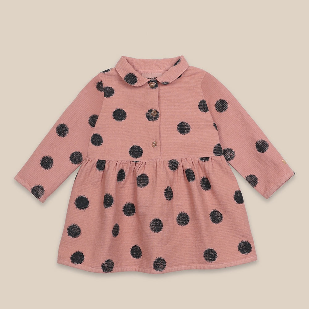 Spray Dots Dress