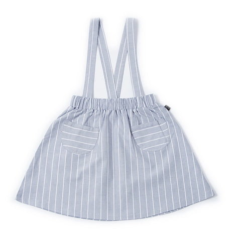 Pinstripe Pinny Skirt