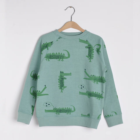 Crocodile Sweater, Nadadelazos- Trapeze Kids