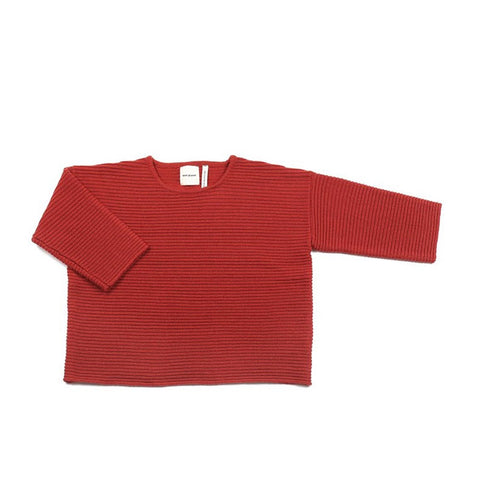 Chubby Jumper Brick Red