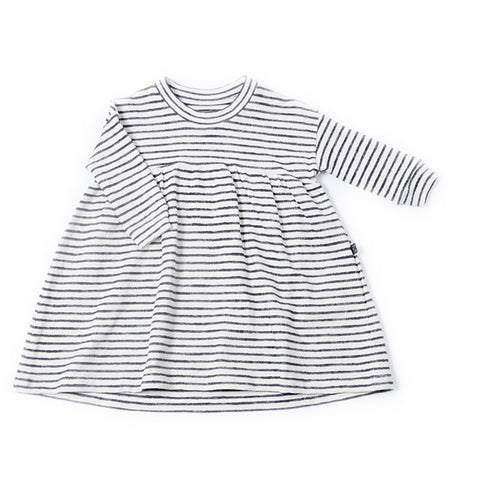 Denim Stripe Dress, Monkind- Trapeze Kids