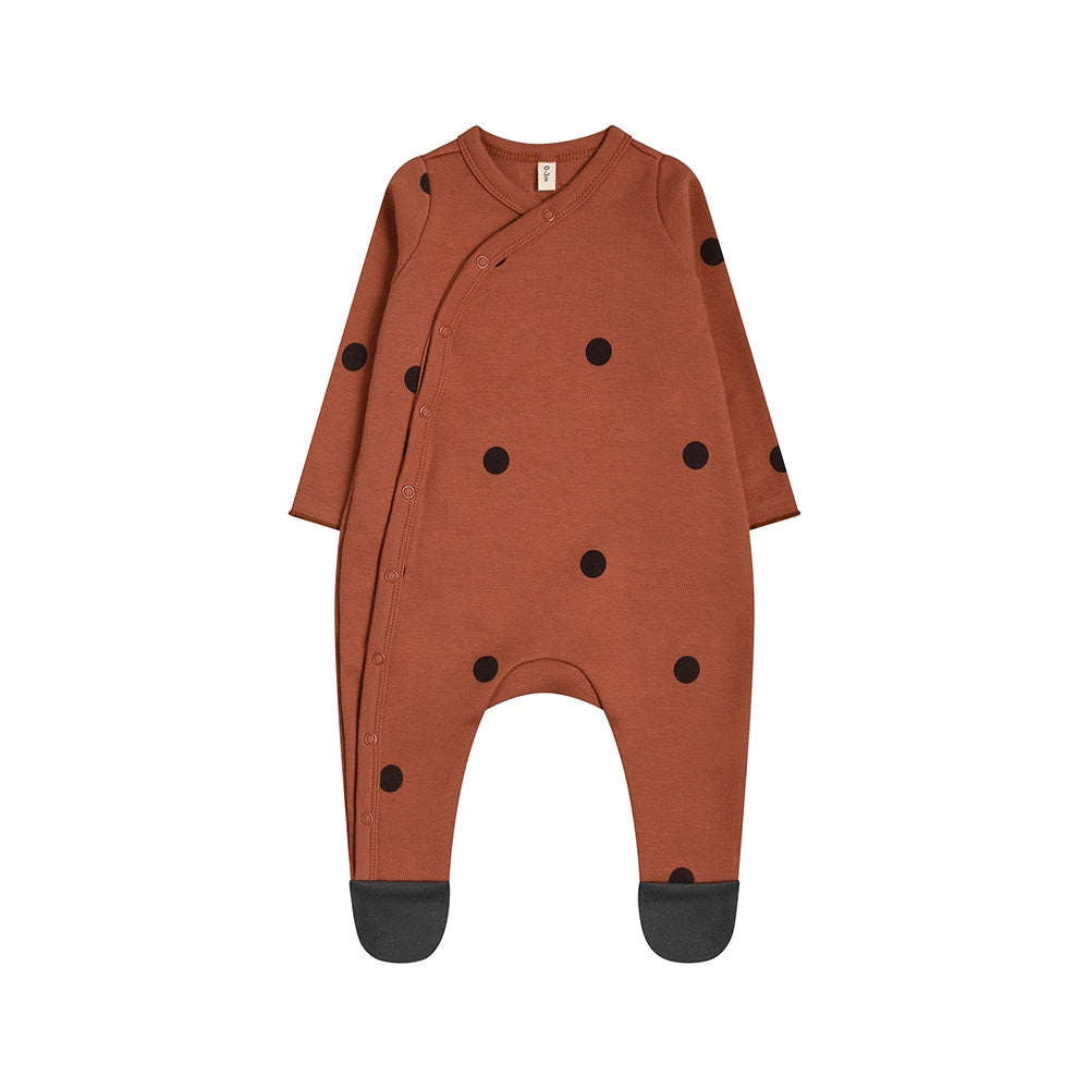 Earth Dots Baby Sleepsuit from Organic Zoo