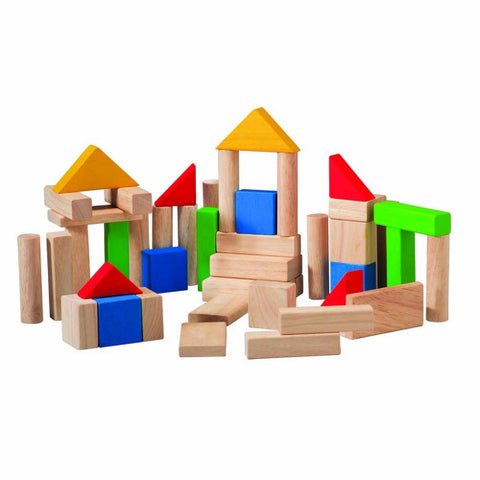 Building Blocks, Plan Toys- Trapeze Kids