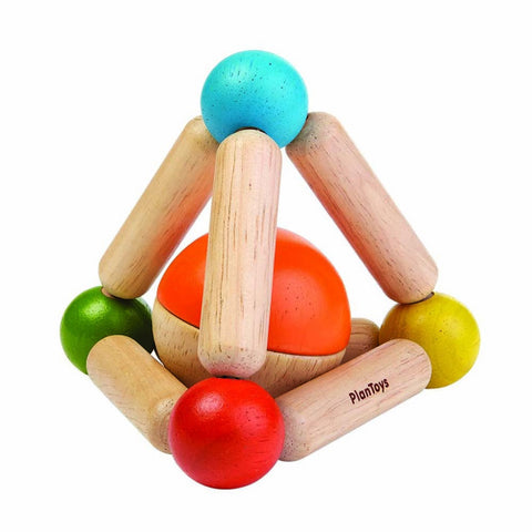 Triangle Clutching Toy, Plan Toys- Trapeze Kids