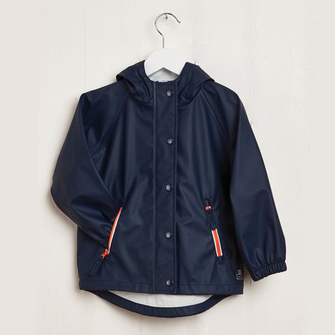 Rainster Navy Jacket, Grass and Air- Trapeze Kids