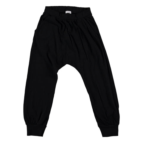 Black Harem Trousers, Picnik- Trapeze Kids