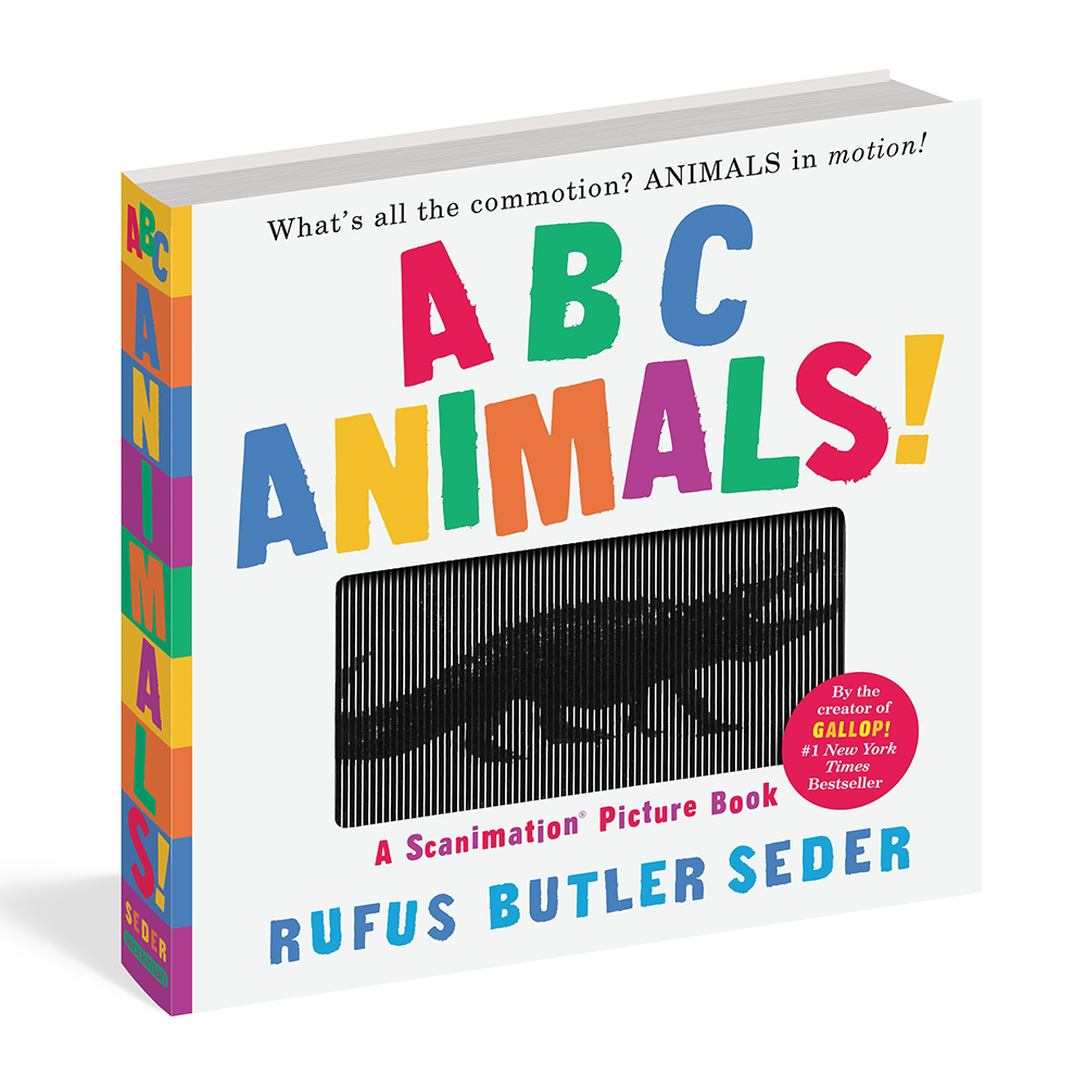 ABC Animals Scanimation, Bookspeed- Trapeze Kids