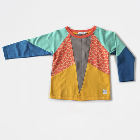 King Panel Sweater, Indikidual- Trapeze Kids