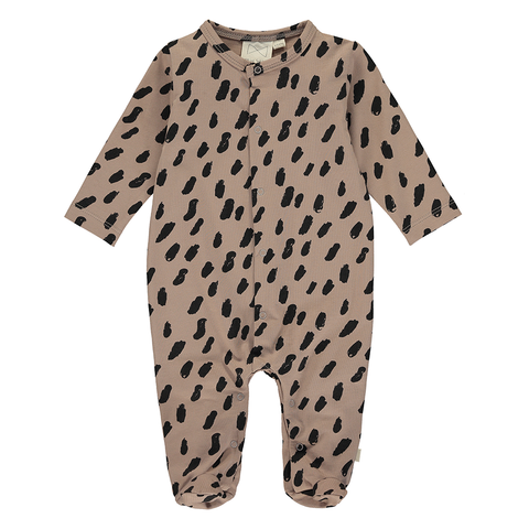 Cacao Paint Sleepsuit