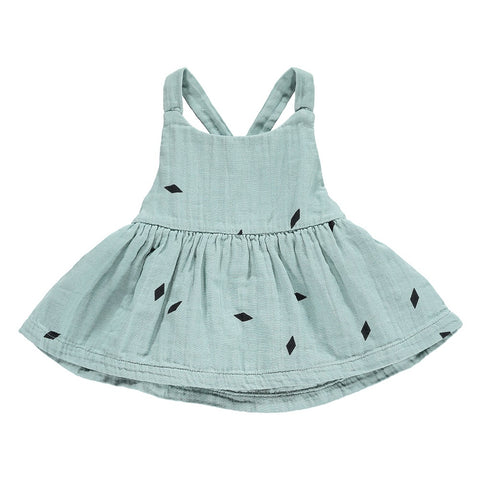 Diamond Strap Dress, Mini Sibling- Trapeze Kids