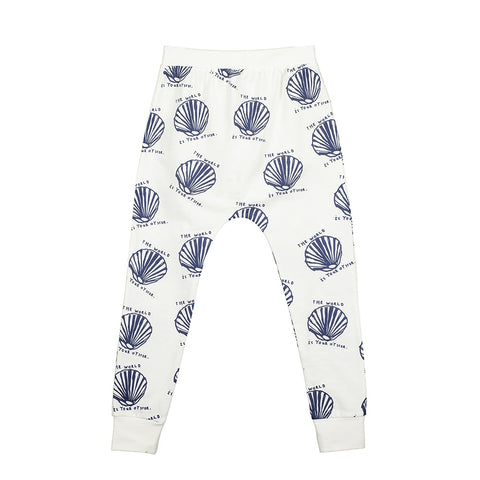 Oyster Print Joggers, Beau Loves- Trapeze Kids
