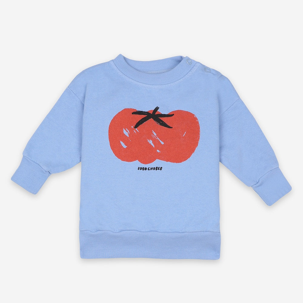 Tomato Baby Sweatshirt by Bobo Choses