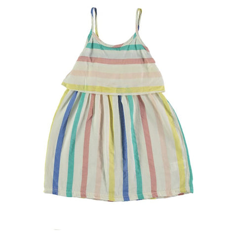 Pastel Stripe Dress, Picnik- Trapeze Kids