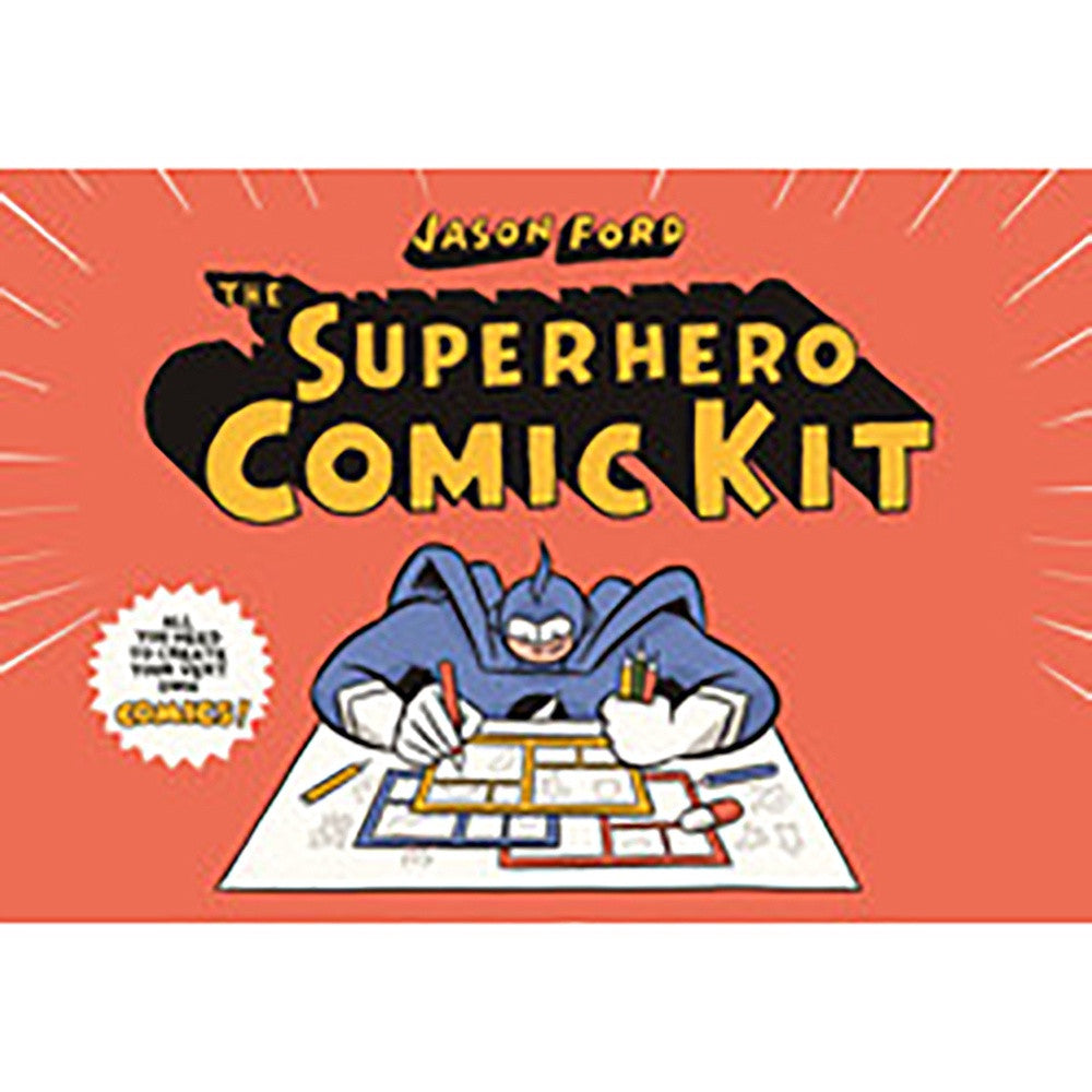 The Superhero Comic Kit, Little Hampton Book Services- Trapeze Kids