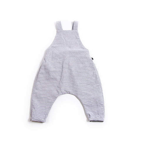 Black Stripe Dungaree, Monkind- Trapeze Kids