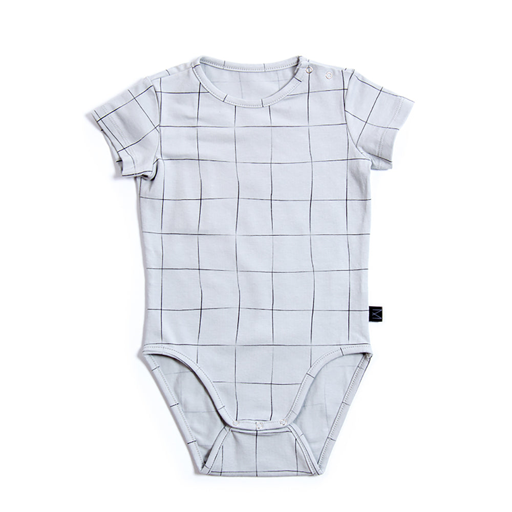 Teal Grid Body, Monkind- Trapeze Kids