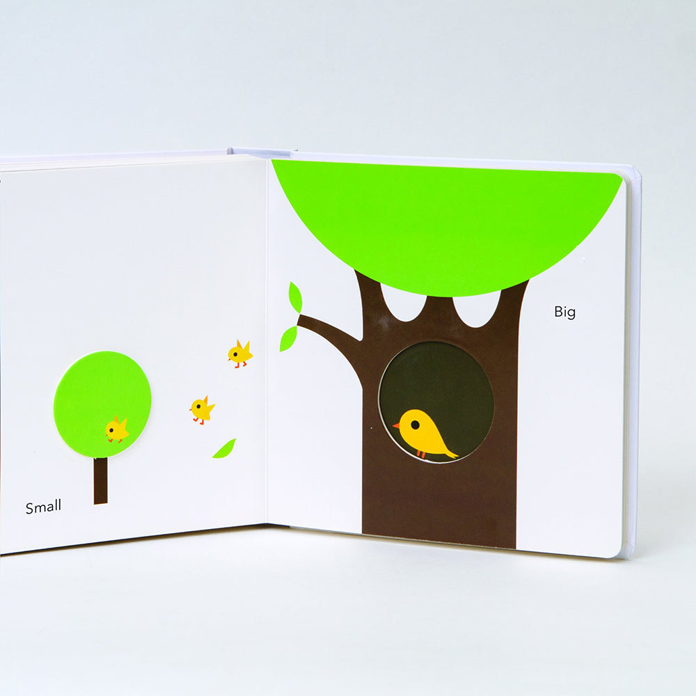 Touch Think Learn Opposites baby board book by Xavier Deneux