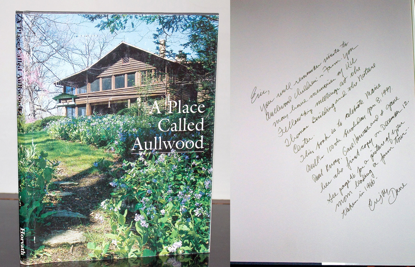 A Place Called Aullwood in Southwestern Ohio Horvath SIGNED Audubon Center Farm
