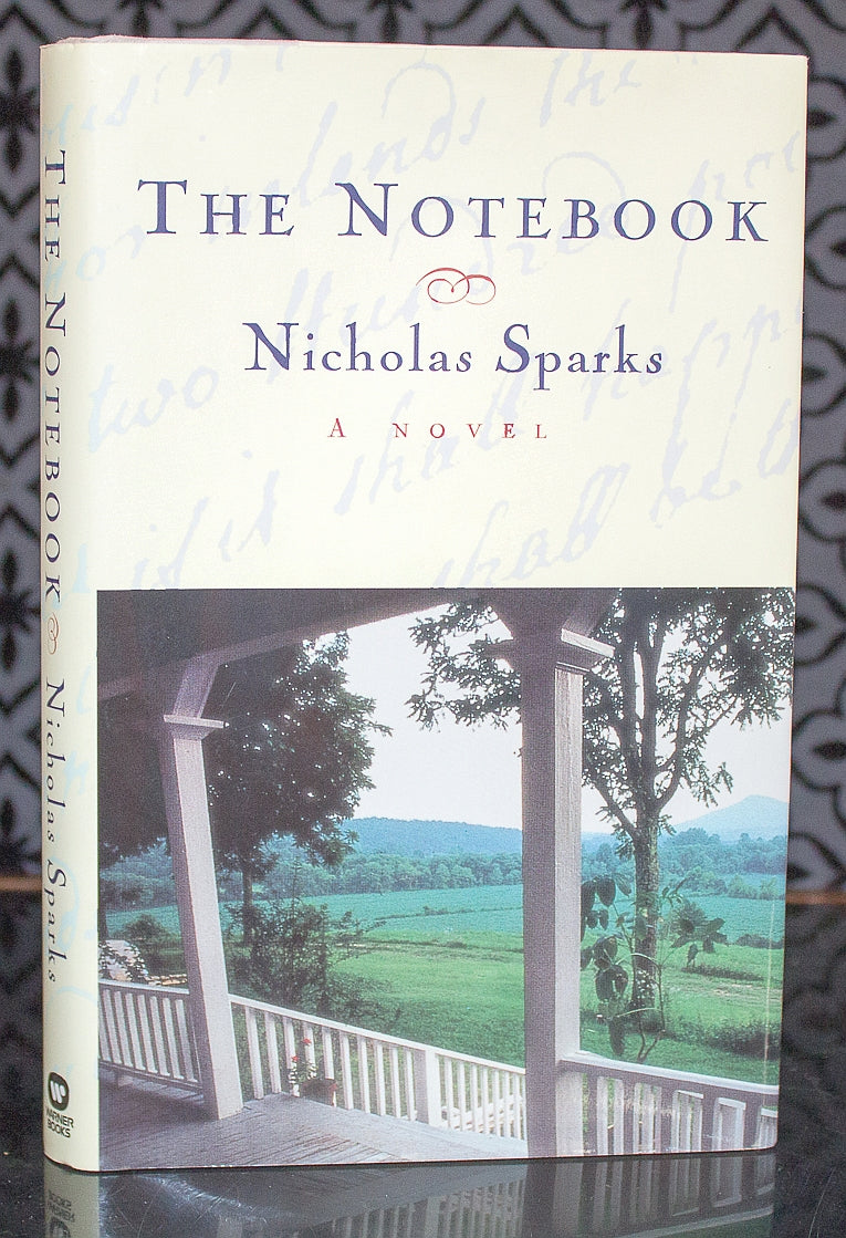 the notebook by nicholas sparks first edition st printing  the notebook by nicholas sparks first edition 1st printing hardcover 1996 dj