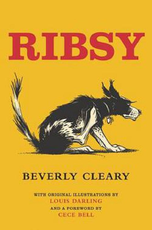 Ribsy Henry Huggins Series Book 6 by Beverly Cleary Hardcover Hardback