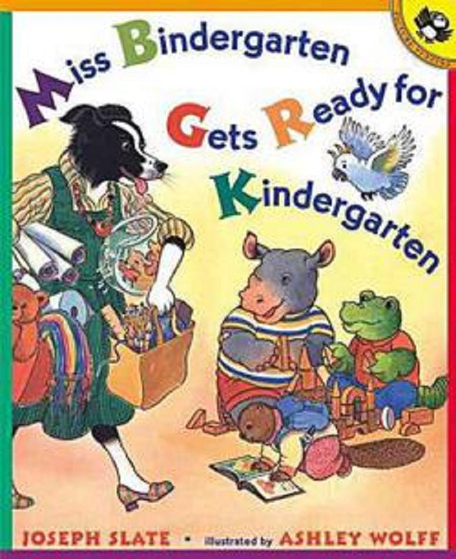 Miss Bindergarten Gets Ready for Kindergarten by Joseph Slate Book Ms Mrs New